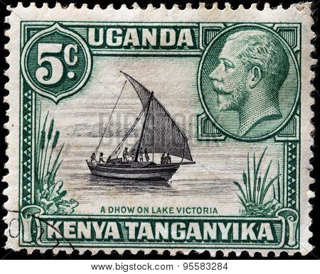 Lake Victoria Stamp