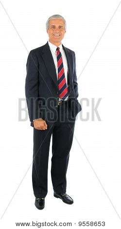 Businessman With Hand In Pocket
