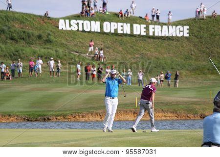 Bernd Weisberger (aut) Winner The Golf French Open 2015