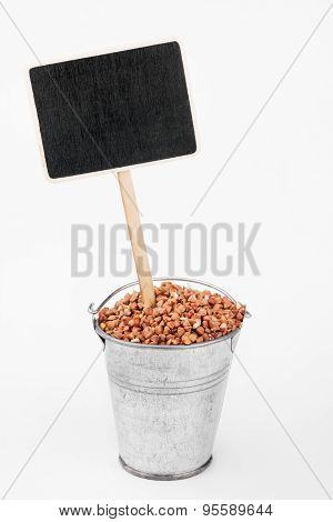 Pointer, Price In Bucket Of  Buckwheat Grains