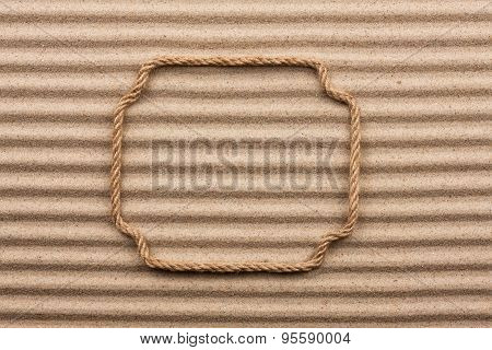 Frame Made Of Rope
