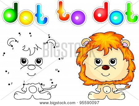 Funny And Cute Lion