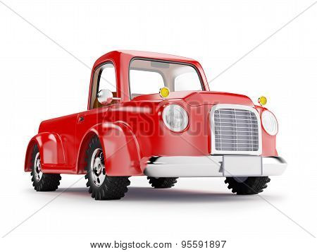 Red Old Truck