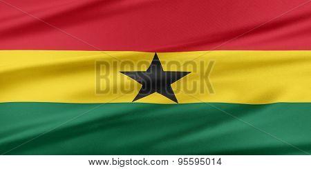 Ghana Flag.