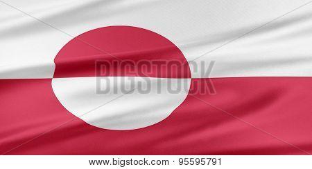 Greenland Flag.