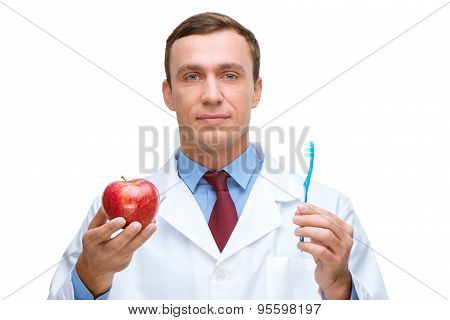 Concept for dentist and teeth hygiene