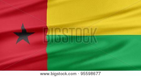 Guinea-bissau Flag.