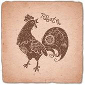 picture of roosters  - Rooster - JPG