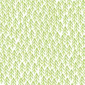 picture of primitive  - Pattern of green watercolor primitive cristmass trees - JPG