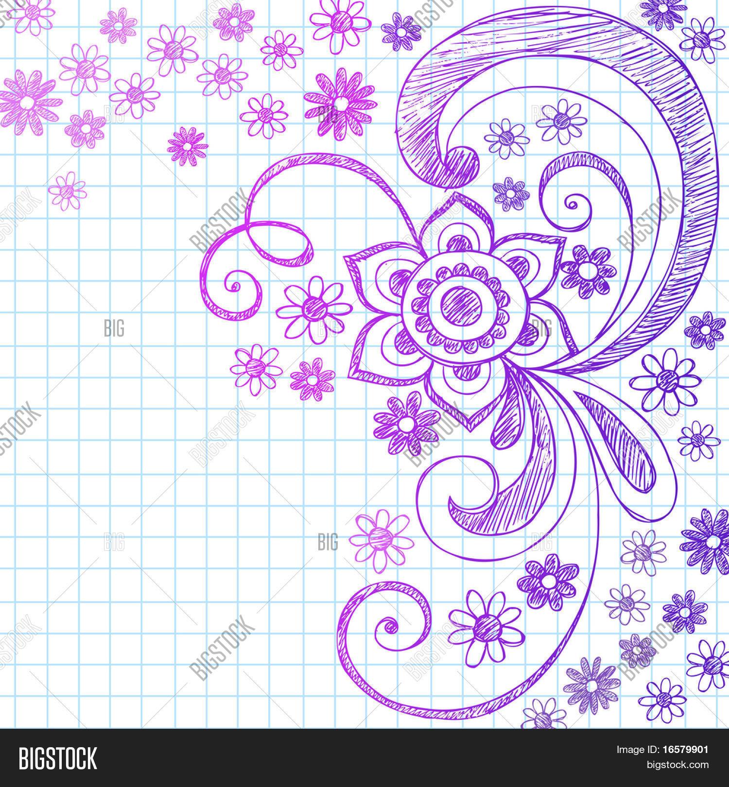 ... on Grid Notebook Paper Vector Stock Vector & Stock Photos | Bigstock