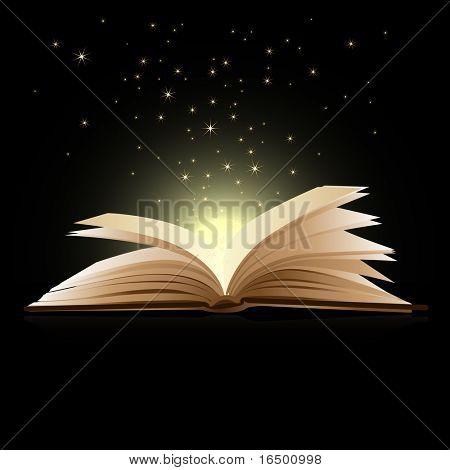 Offenes Buch Magie - Bildung-Konzept