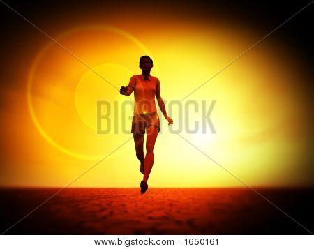 Frauen runner