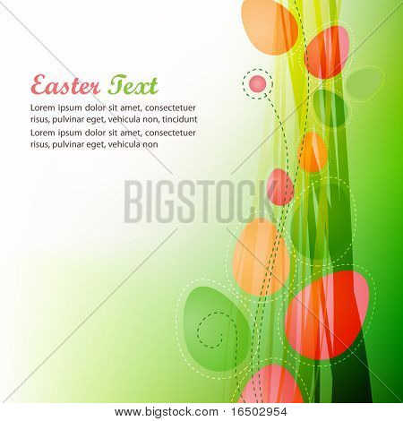 Abstract Easter Background - Vector Series