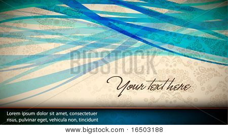 Abstract Vector Card | Background