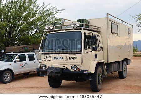 Overlanding In Namibia, Africa