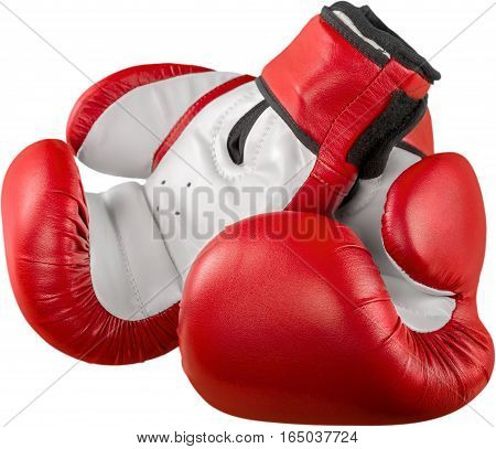A pair of boxing gloves Isolated on Transparent Background