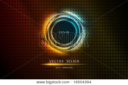 Futuristic Gate, Entrance | Vector Science Fiction Series