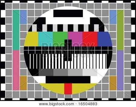 pantalla de la TV