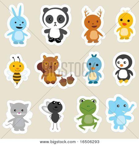 animals stickers