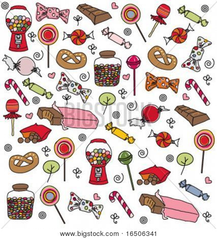 sweets pattern