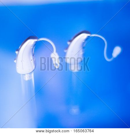 Hearing Aids In Retail Store
