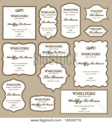 labels frames