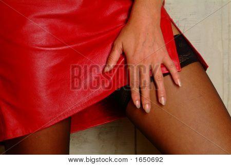 Hand On A Leg