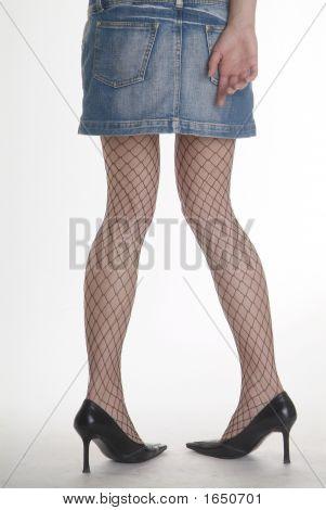 Mini Leg Stocking High