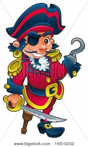 Pirata divertido