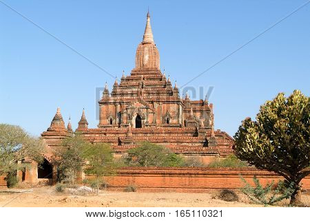 Sulamani temple at the archaeological site of Bagan on Myanmar