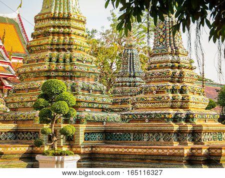 Ancient Wat Arun Temple or The Temple of Dawn. Bangkok, Thailand
