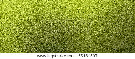 Metal, metal background, metal texture. Green metal texture, green metal background. Abstract metal background.