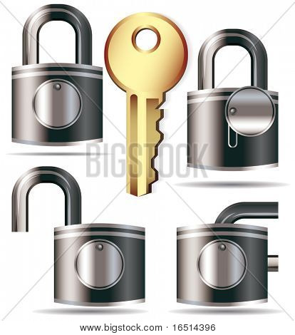 Set of locks and a key