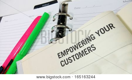 Empowering Your Customer