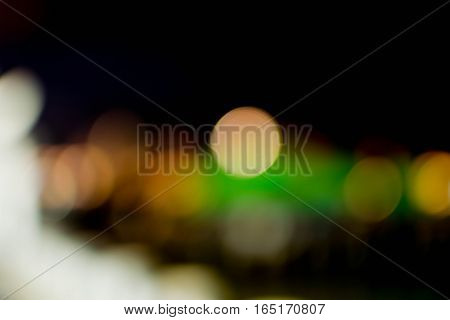 Abstract background bokeh blurred of lighting colorful.