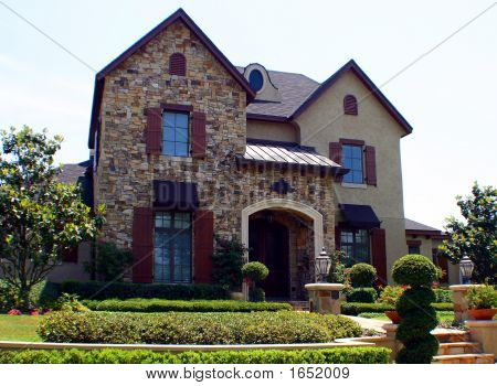 Stone Front Modern American Dream Home