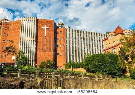 St Aloysius College, a Catholic school for boys in Kirribilli near Sydney - Australia, New South Wales