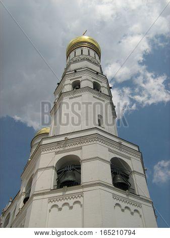 Ivan the Great bell tower Moscow Kremlin bells.