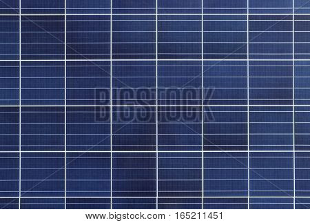 Solar Cell Panel Polycrystaline type Background and Texture