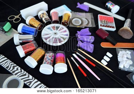 Items for nail care - Accessories for manicure