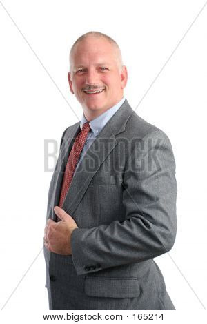 Friendly Businessman - Formal