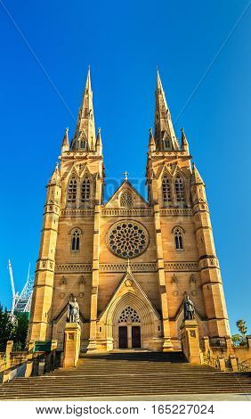 St Mary's Cathedral in Sydney - Australia, New South Wales