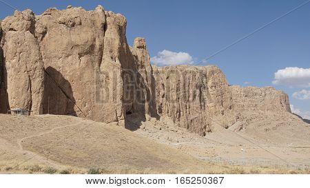 Landscape around Naqsh-e Rostam, Iran, Middle East, Asia