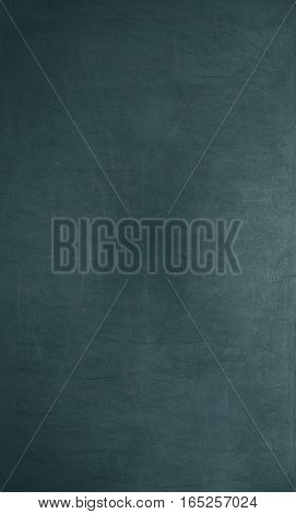 Blackboard / Chalkboard Texture. Empty Blank Blue Chalkboard