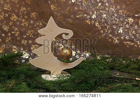 Holidays / Beautiful Christmas and New Years scene