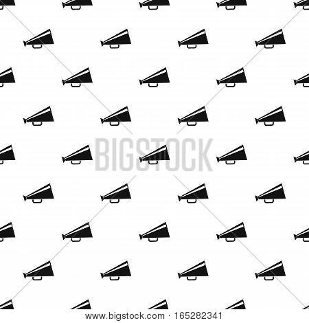 Loudspeaker pattern. Simple illustration of loudspeaker vector pattern for web design