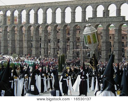 Holy Week Processions In Segovia Spain march 30 2010