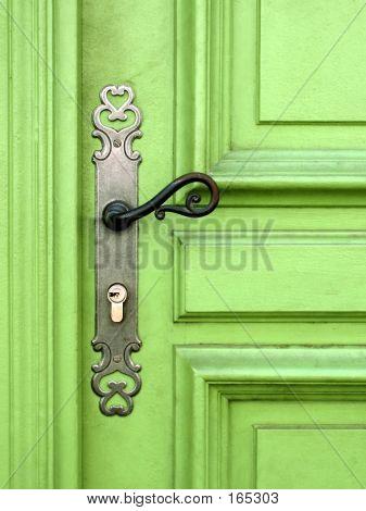 Grüne Tür