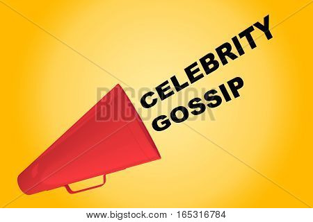 Celebrity Gossip Concept