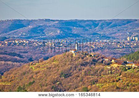 Villages And Hills Of Coastal Region